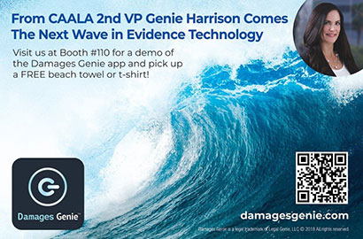 Damages Genie app launched at CAALA Vegas Convention