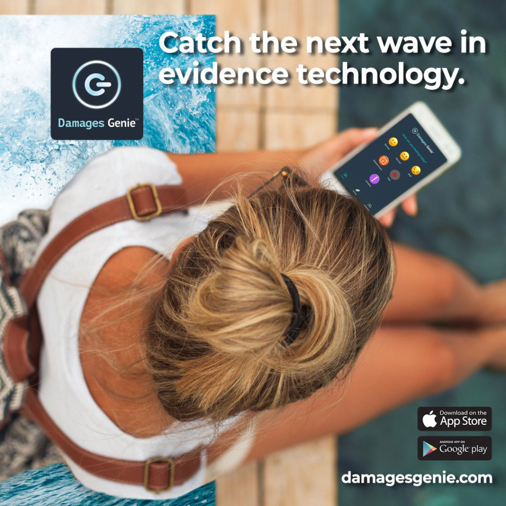 Introducing Damages Genie app and software