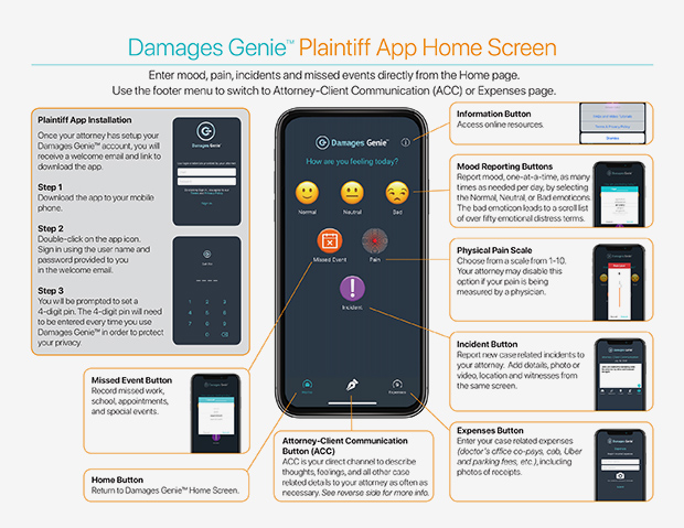 Damages Genie Plaintiff App